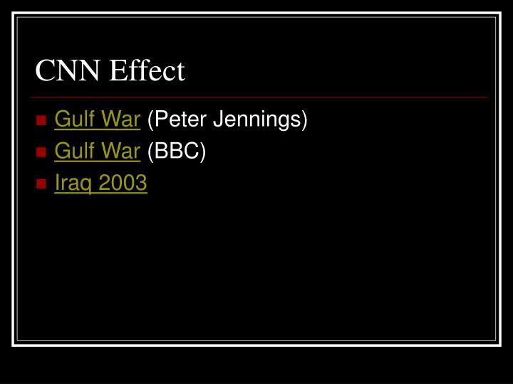 CNN Effect