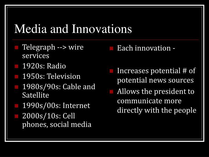 Telegraph --> wire services