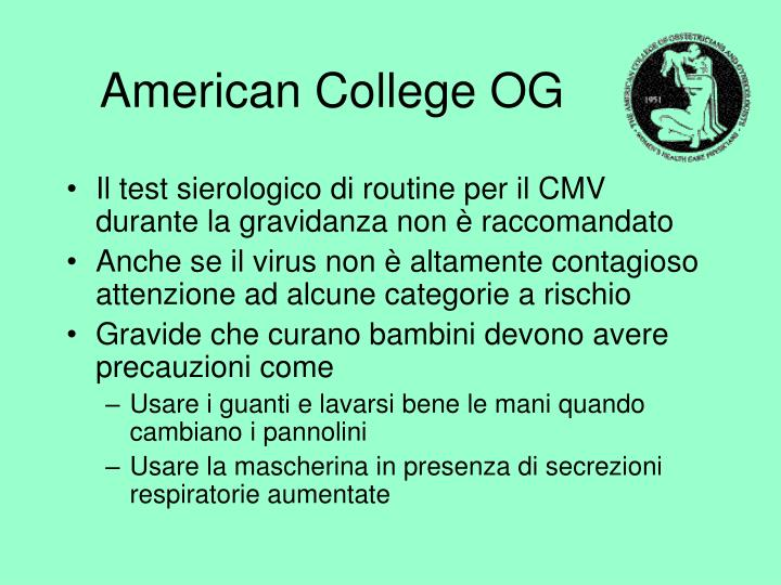 American College OG