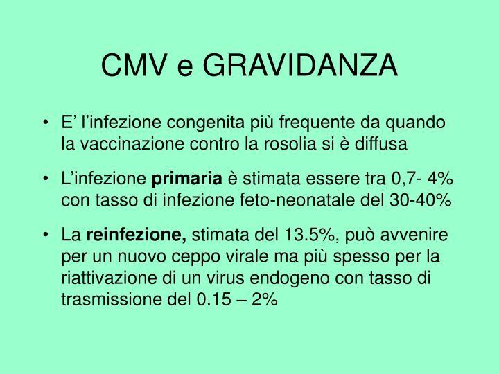 CMV e GRAVIDANZA