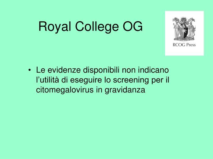Royal College OG