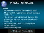 project graduate8