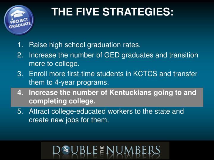 Raise high school graduation rates.