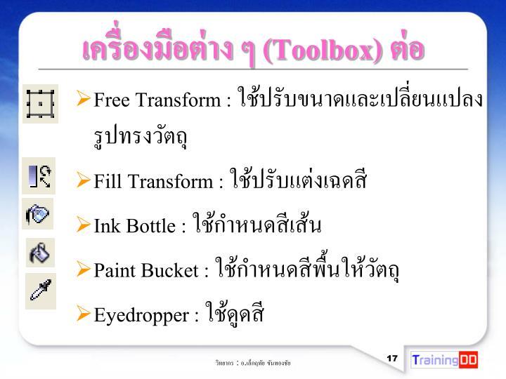 Free Transform :