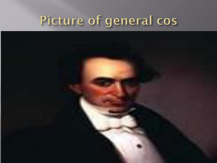 Picture of general cos