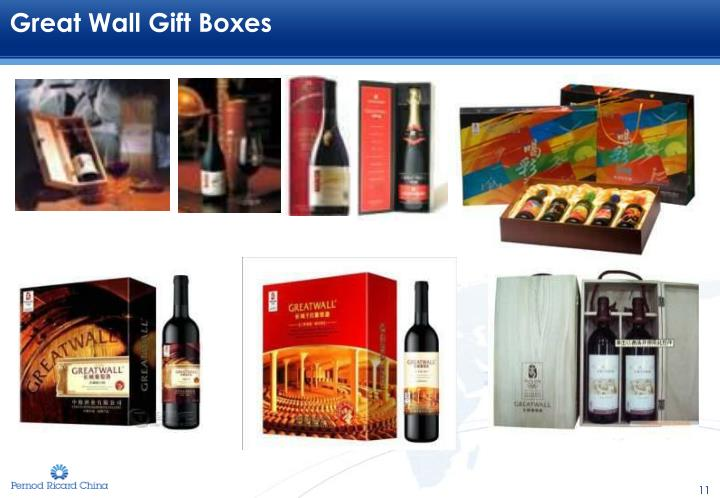 Great Wall Gift Boxes