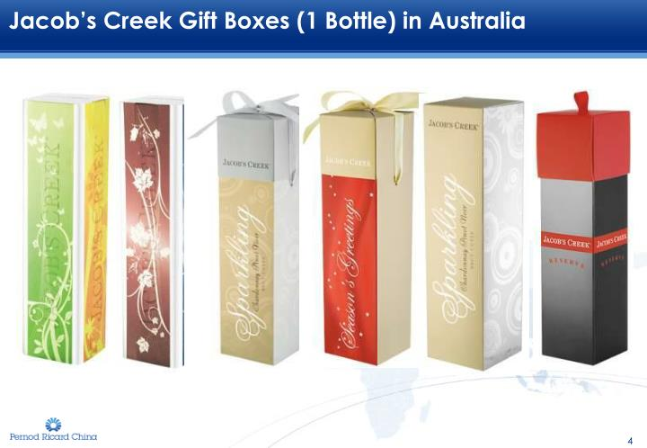 Jacob's Creek Gift Boxes (1 Bottle) in Australia
