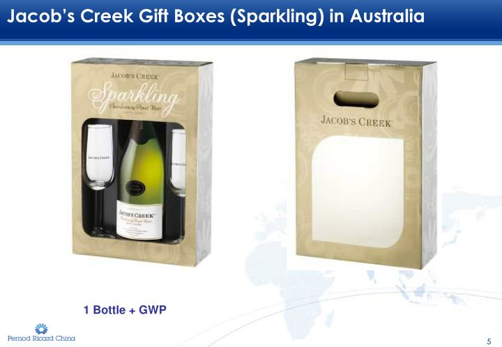 Jacob's Creek Gift Boxes (Sparkling) in Australia