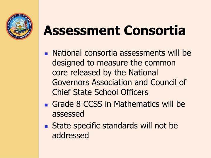 Assessment Consortia