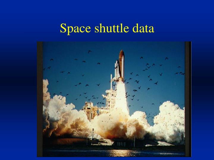 Space shuttle data