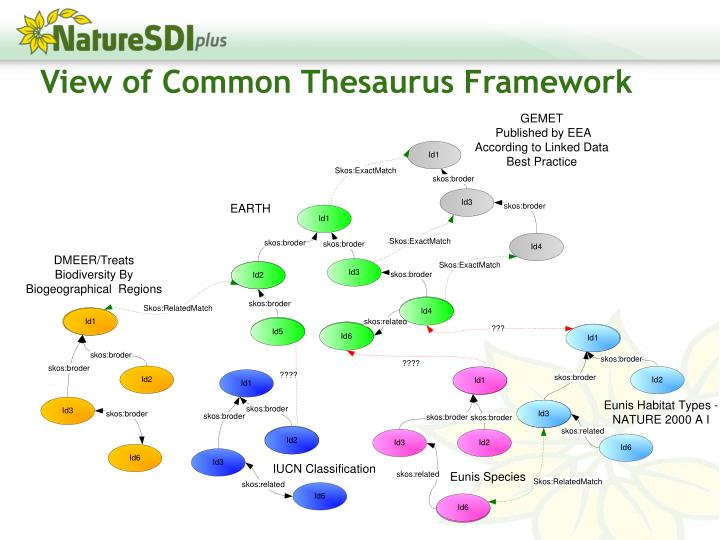 View of Common Thesaurus Framework