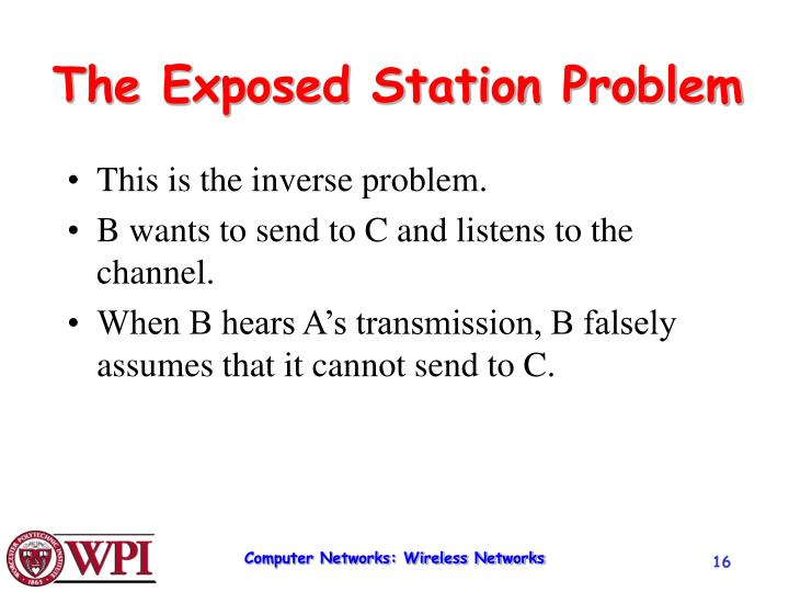 The Exposed Station Problem