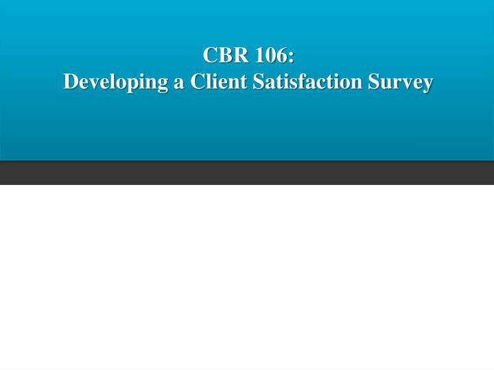 CBR 106:
