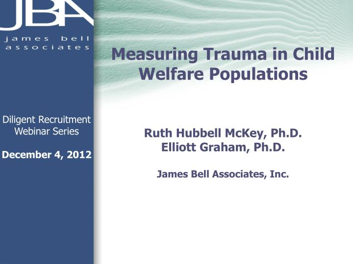 Measuring Trauma in Child Welfare Populations