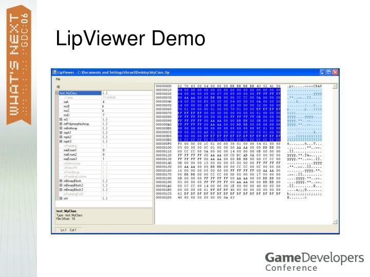 LipViewer Demo