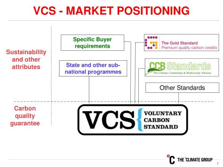 VCS - MARKET POSITIONING