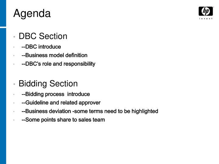 DBC Section