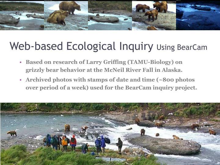 Web-based Ecological