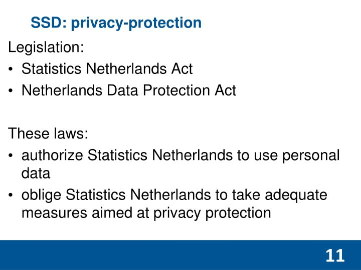 SSD: privacy-protection