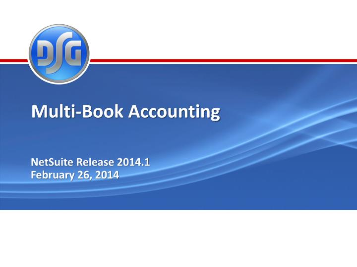Multi-Book Accounting