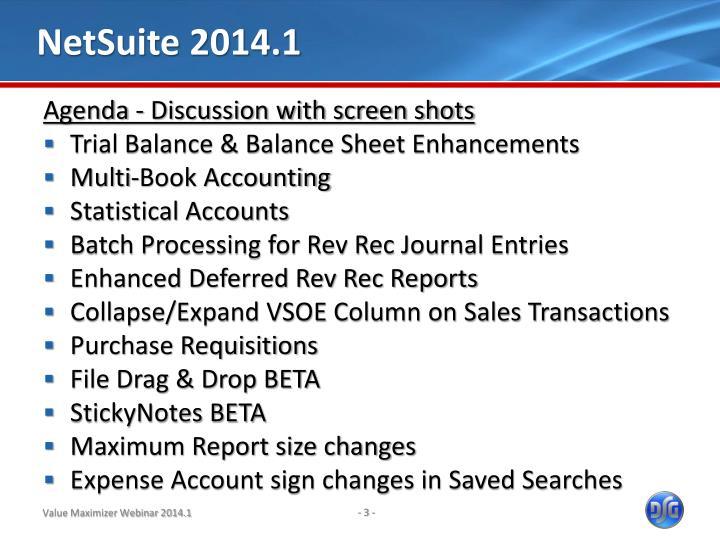 NetSuite 2014.1