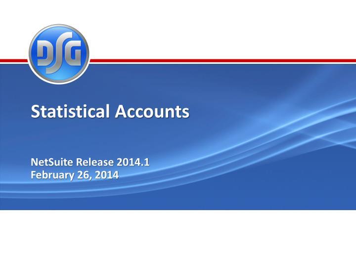Statistical Accounts