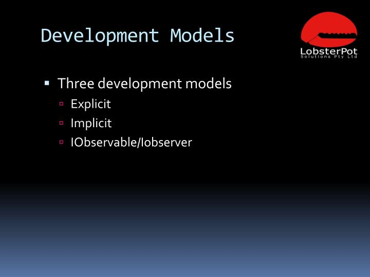 Development Models