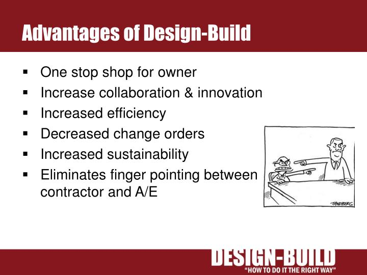 Advantages of Design-Build
