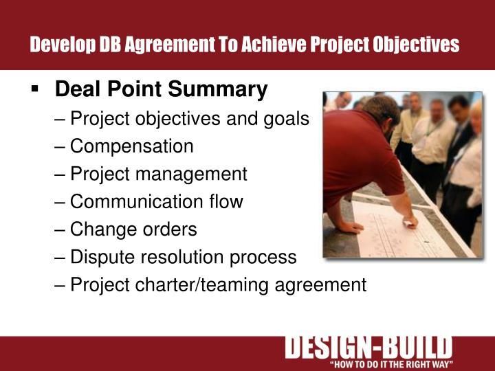 Develop DB Agreement