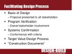 facilitating design process