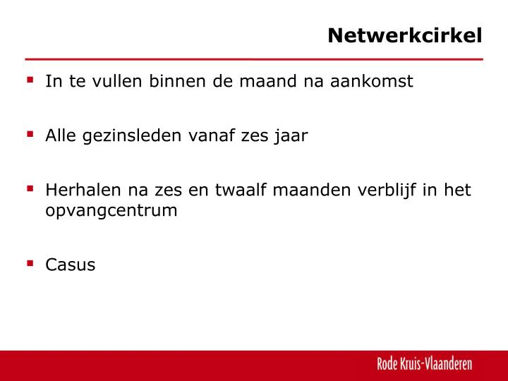 Netwerkcirkel