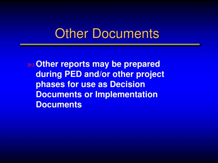 Other Documents