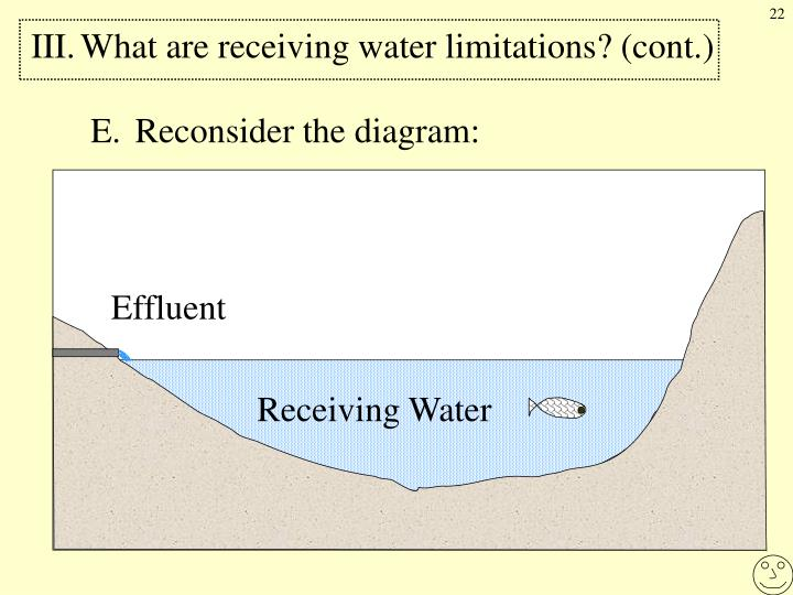 III.What are receiving water limitations? (cont.)