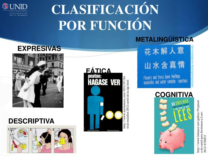 CLASIFICACIÓN POR FUNCIÓN