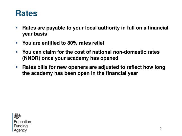 Rates