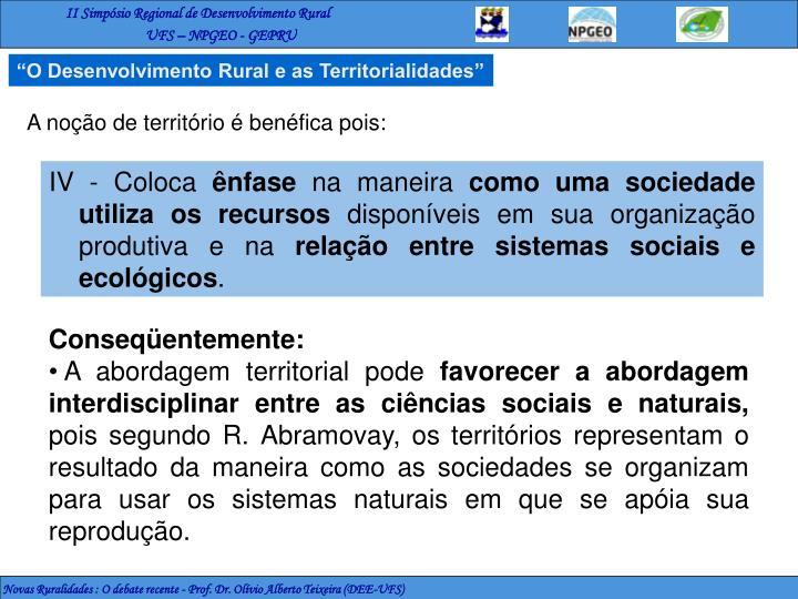 """""""O Desenvolvimento Rural"""