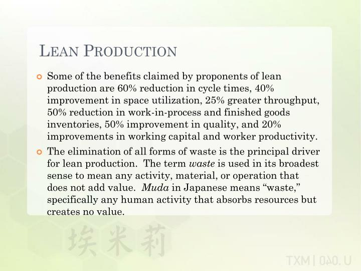 Lean production1