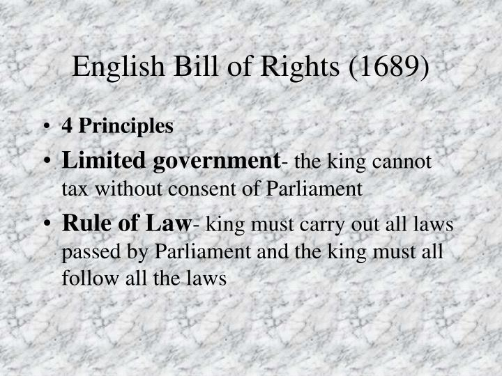 PPT - Parliament Limits the English Monarchy PowerPoint ...