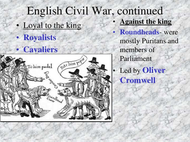 Homework help english civil war