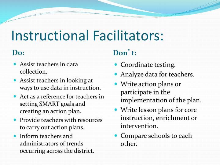 Instructional Facilitators:
