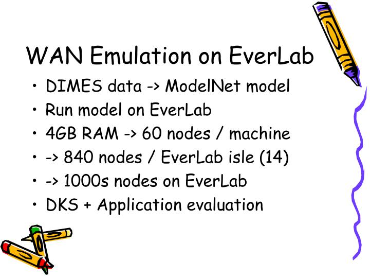 Wan emulation on everlab