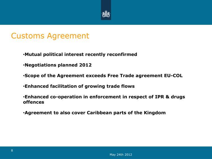 Customs Agreement
