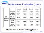 performance evaluation cont1