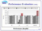 performance evaluation cont3