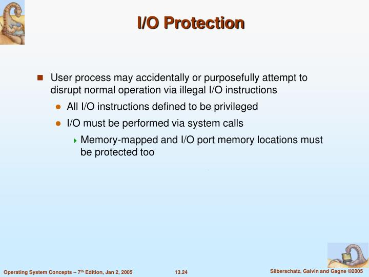 I/O Protection