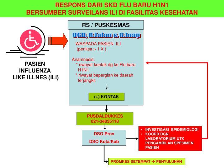RESPONS DARI SKD FLU BARU H1N1