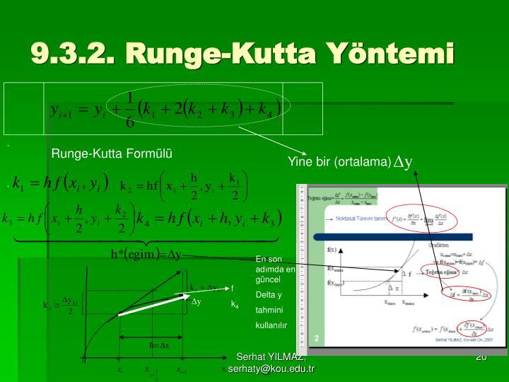 Рунге - кутта метод