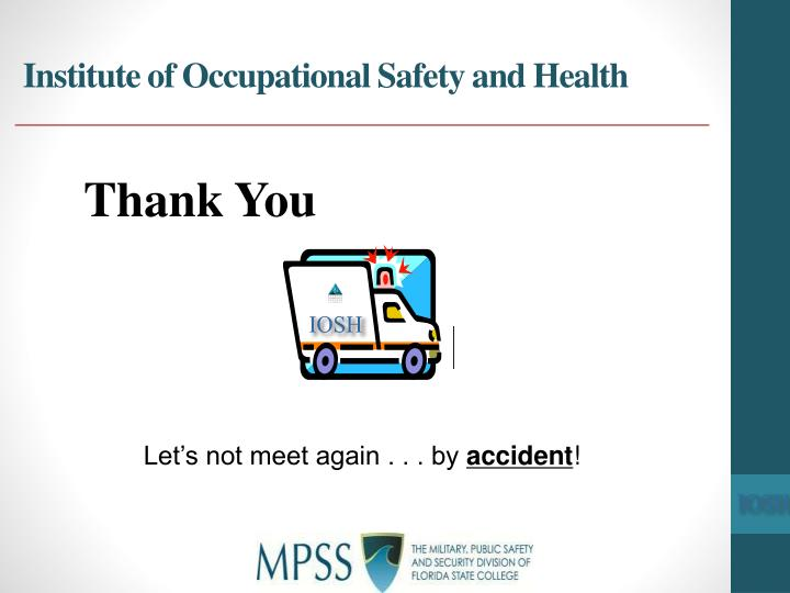Institute of Occupational Safety and Health