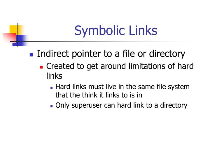 Symbolic Links