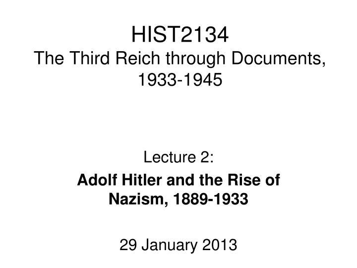 HIST2134